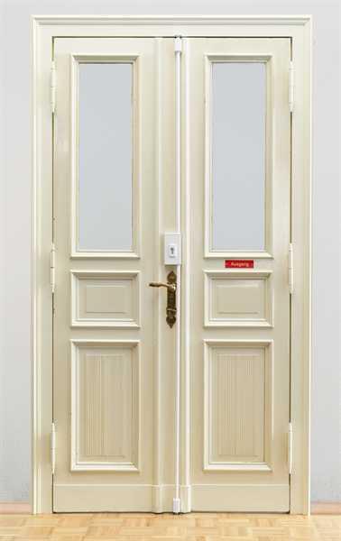 Tür-Stangenschloss TSS550 Braun ohne Zylinder