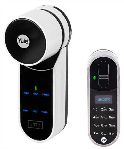 Yale ENTR Fingerabdruck Set YA95