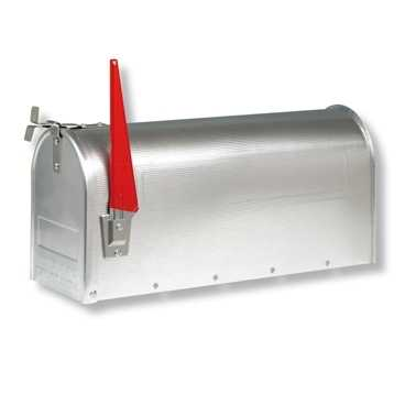 U.S. Mailbox 891 Weiß