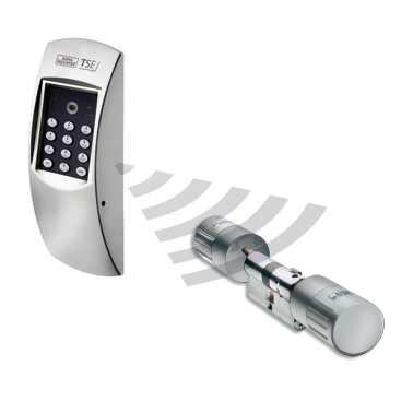 Elektronisches Türschloss TSE 4001 Weiß