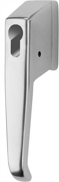 Ikon abschließbarer Fenstergriff für Profilzylinder Weiß 9M10