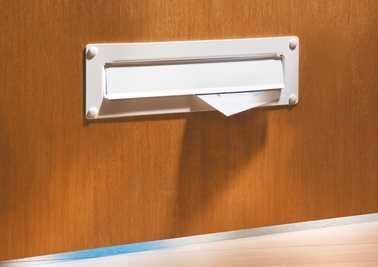 Außen-Einwurfblende Porta 796 Weiß