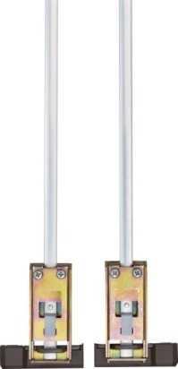 Doppelschliessblech DSB550 Braun
