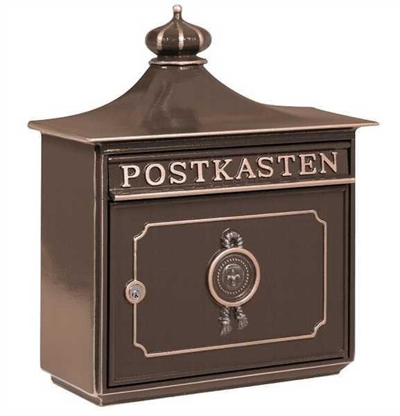 Briefkasten Bordeaux 1895 Bronze