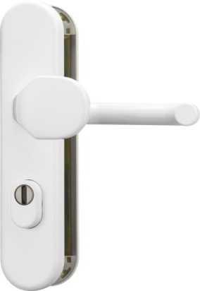 Schutzbeschlag KLZS714 Weiß
