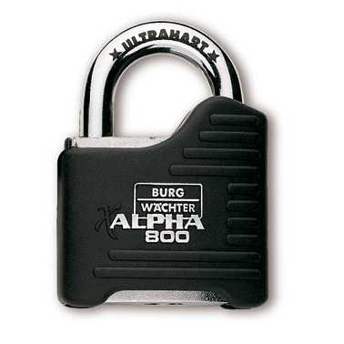 Hangschloss Alpha 800/65