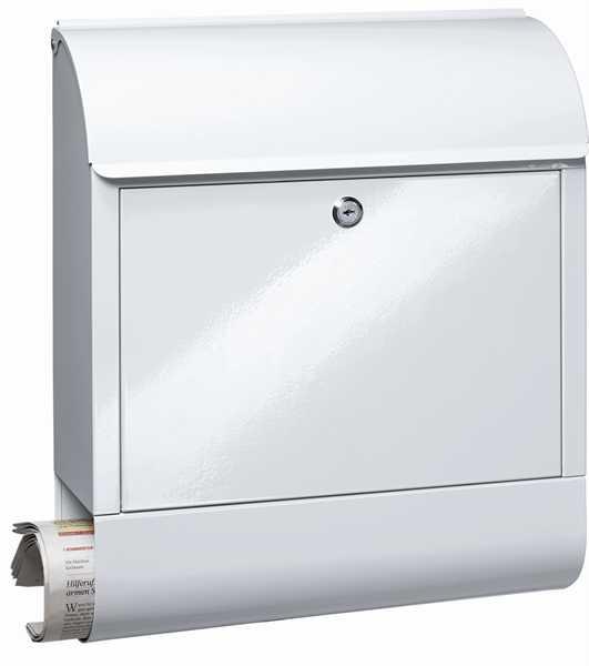 Briefkasten Scandic 825 Weiß