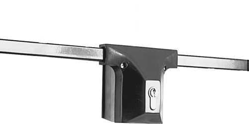 Garagen-Stangenschloss Braun - Grundpaket 9M31 45177