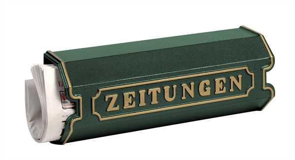 Zeitungsbox 1890 Grün