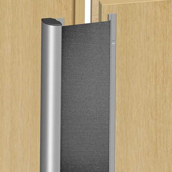 Fingerschutz NR38 Silber/Schwarz 1925mm