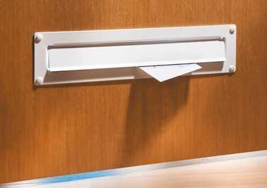 Außen-Einwurfblende Porta 797 Braun