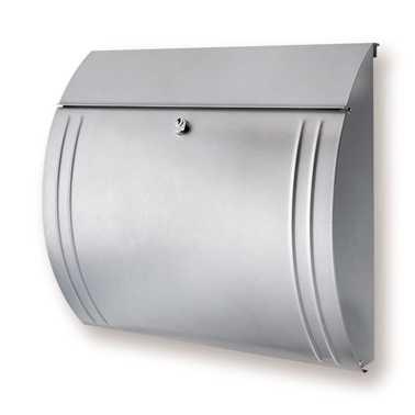 Briefkasten Modena 857 Silber