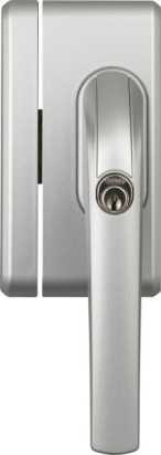 Fenster-Zusatzschloss FO400N Silber