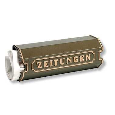 Zeitungsbox 1890 Bronze
