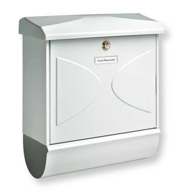 Briefkasten Futura-Set 92600 Weiß