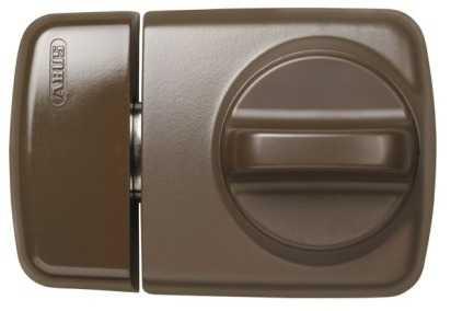 ABUS Türzusatzschloss 7510 EK mit Zylinder Braun