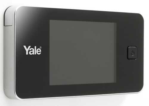 Digitaler Türspion Yale YY45 01680 Silber