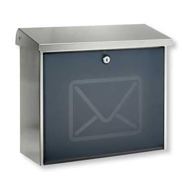 Briefkasten Lucca 3713 Letter Edelstahl