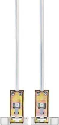 Doppelschliessblech DSB550 Weiß