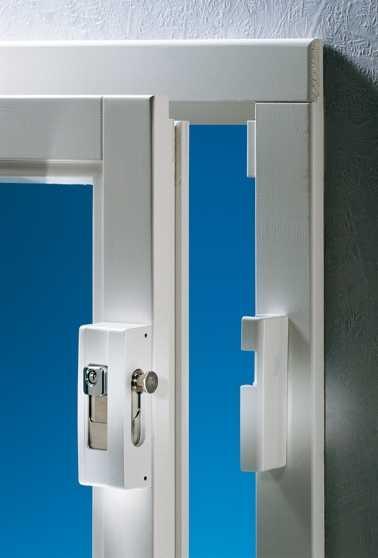 Fenstersicherung Blocksafe B1 Weiß Z1 GL