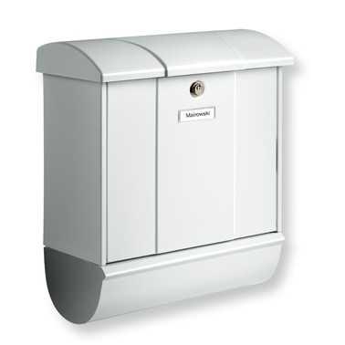Briefkasten Olymp-Set 91600 Silber