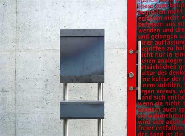 glasnost Zeitungsbox mit Cortenstahlfront newsbox.iron