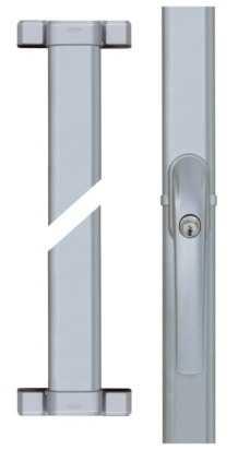 Fenster-Stangenschloss FOS550 Silber