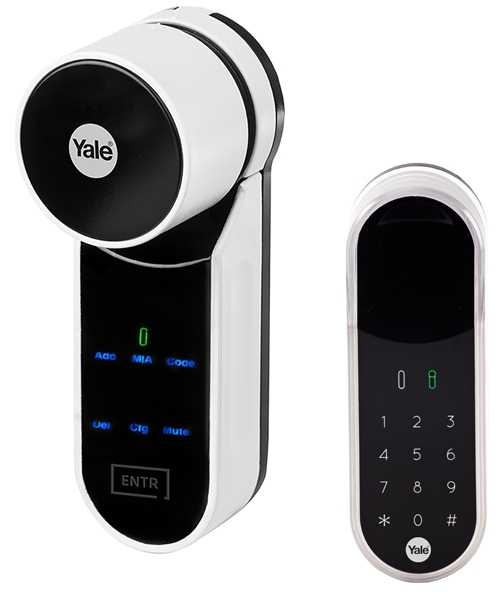 Yale ENTR PIN Code Set YA95