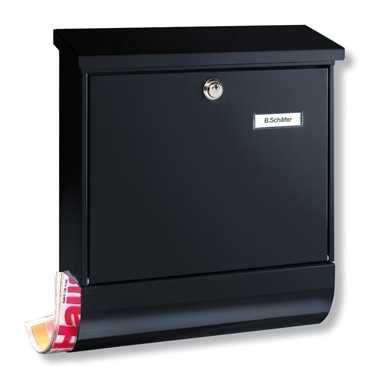 Briefkasten Vario-Set 86720 Schwarz
