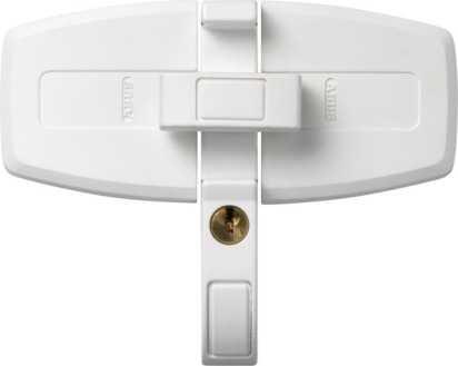 Doppelflügel-Fenstersicherung DFS95 Weiß