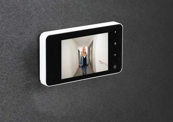 Elektronischer Türspion eGuard DG8200 Weiß