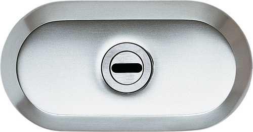 Schutzrosette Braun mit Zylinderabdeckung 9M28 45126