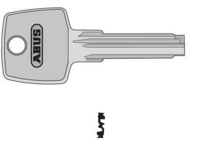 mehrschl ssel zu zylinder ec550 abus ec550 knaufzylinder profilzylinder t rsicherung. Black Bedroom Furniture Sets. Home Design Ideas