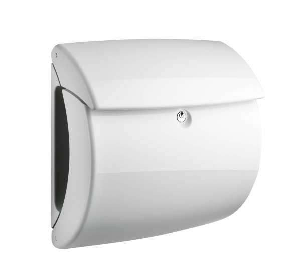 Briefkasten PIano 886 Weiß