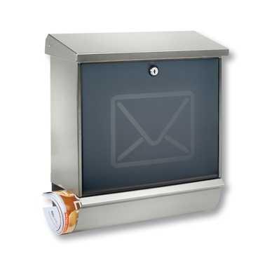 Briefkasten Lucca-Set 37130 Letter Edelstahl
