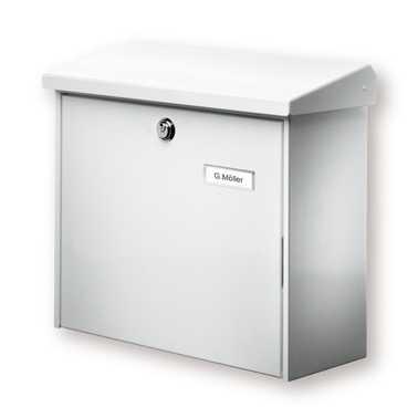 Briefkasten Comfort 913 Weiß