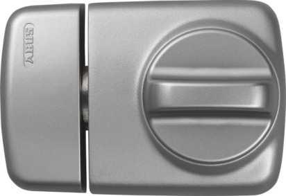 ABUS Türzusatzschloss 7510 EK mit Zylinder Silber