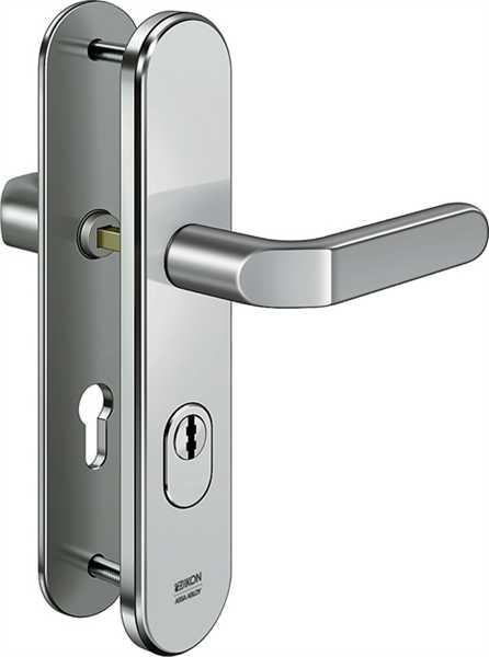 Stahl-Schutzbeschlag S403 Drücker/Drücker