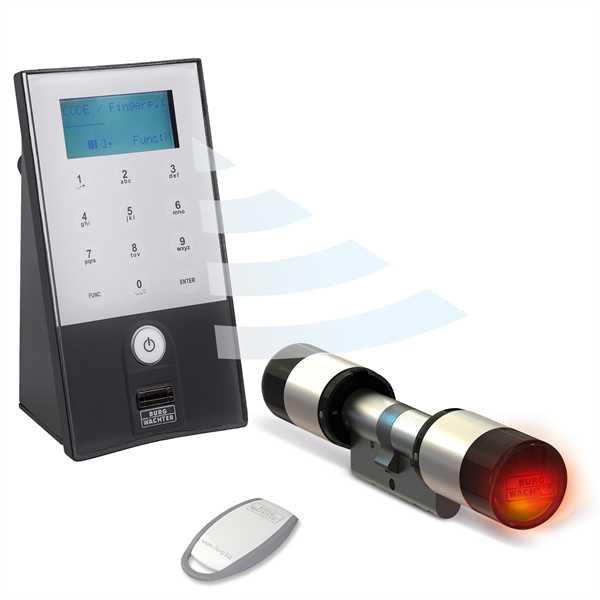 Elektronisches Türschloss secuENTRY 5702 Fingerprint