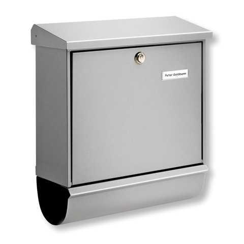Briefkasten Comfort-Set 91300 Silber