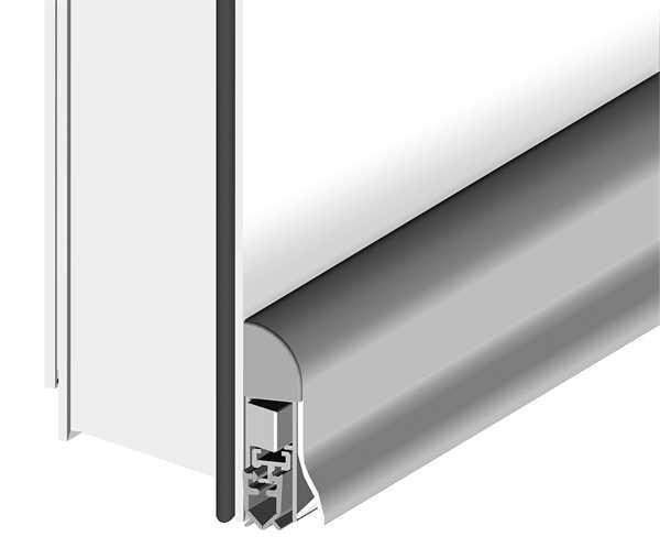 Zugluftdichtung Wind-Ex RTK-1 Außen 985 Silber
