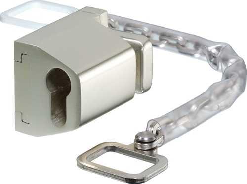 Ikon Türgriffkette Silber 9M34 45192 PZ-vorgerichtet