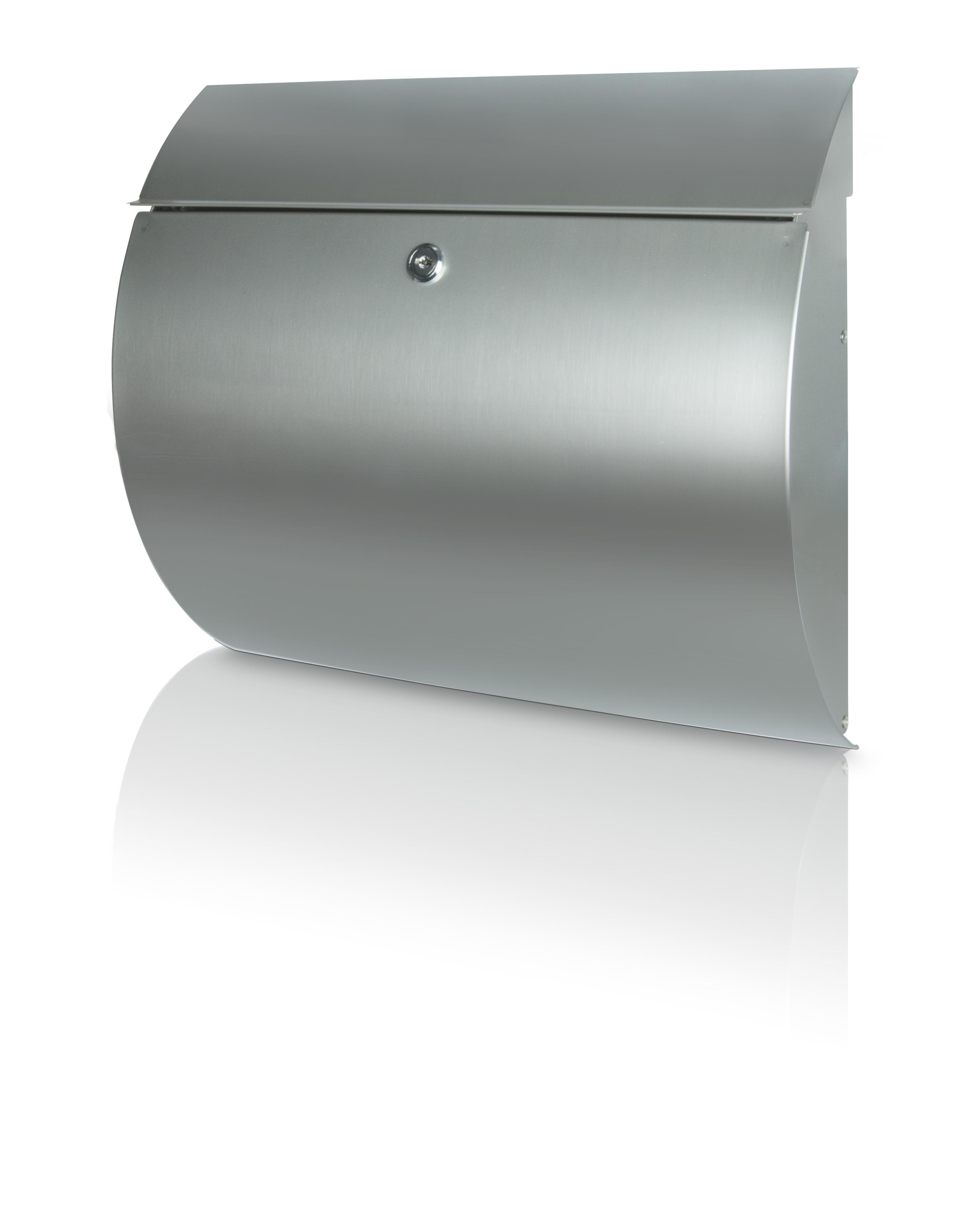 briefkasten toscana 3856 edelstahl edelstahl briefkasten. Black Bedroom Furniture Sets. Home Design Ideas