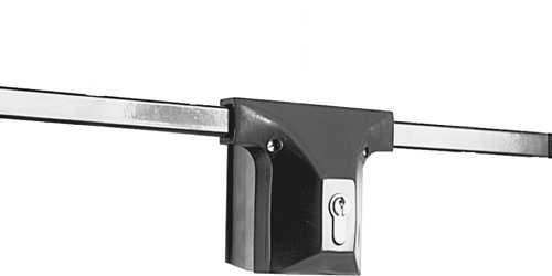 Garagen-Stangenschloss Weiß - Grundpaket 9M31 45176
