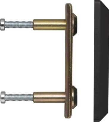 Montageplatte PV1820 Schwarz