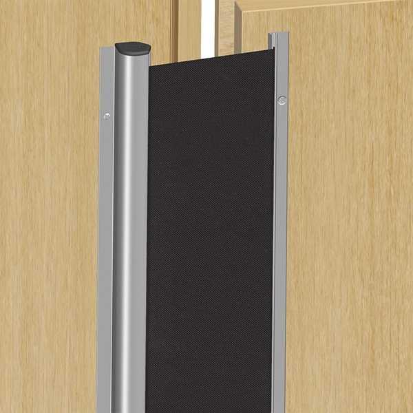 Fingerschutz NR25 Silber/Schwarz 1925mm