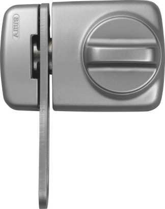 ABUS Türzusatzschloss 7530 EK mit Zylinder Silber