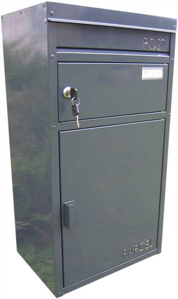 Paketbriefkasten Parcelbox PB45 Anthrazitgrau