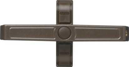 Doppelflügel-Fenstersicherung 2520 Braun