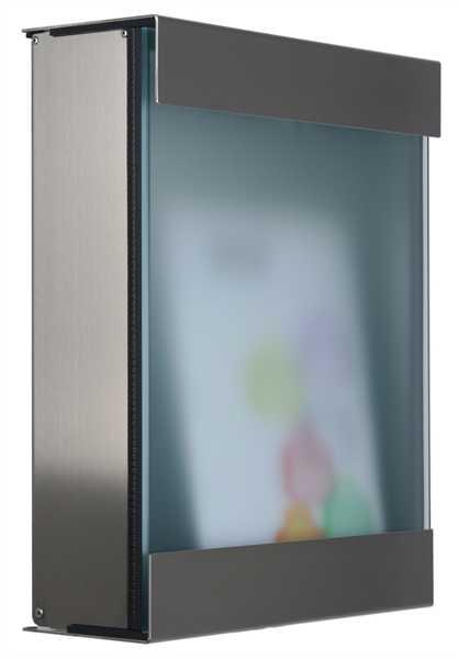 glasnost Briefkasten mit Fronten aus Glas glass.360